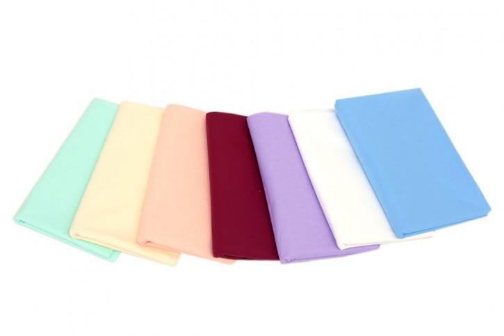 Spannbettlaken glatte Baumwolle für Kinder