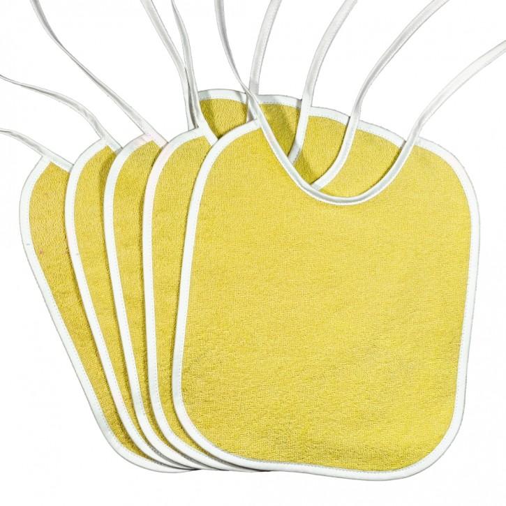 Lätzchen Gelb zum Binden